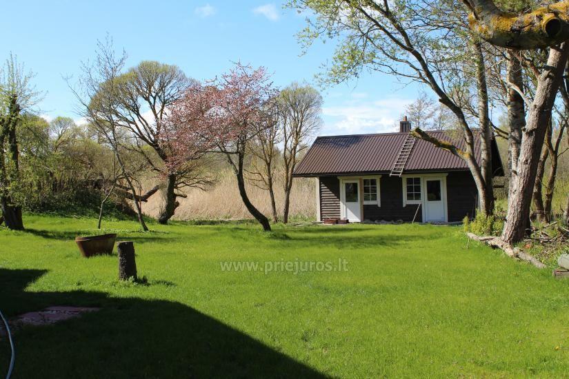 Svečių namai ramioje vietoje ant Papės ežero kranto, šalia jūros - Lejnieki - 7