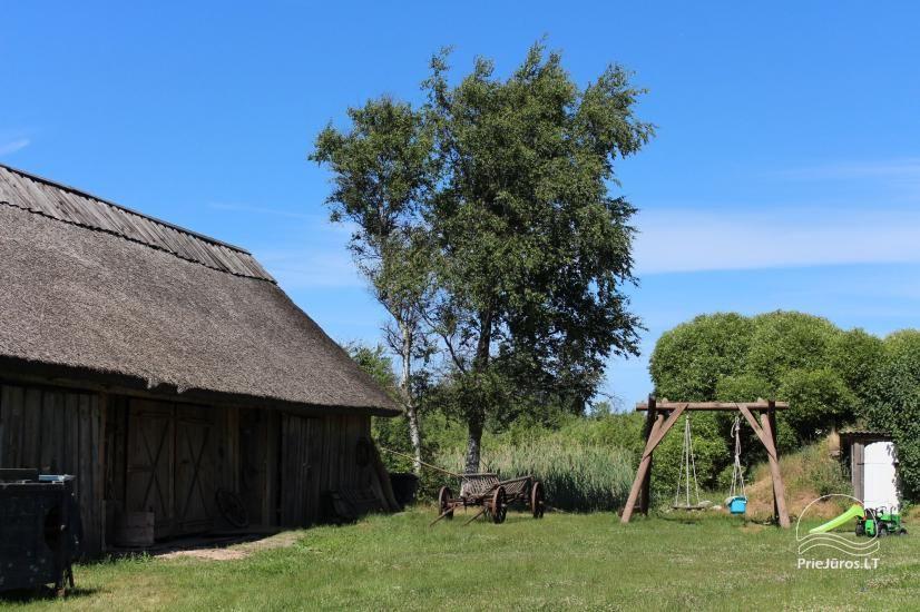 Svečių namai ramioje vietoje ant Papės ežero kranto, šalia jūros - Lejnieki - 10