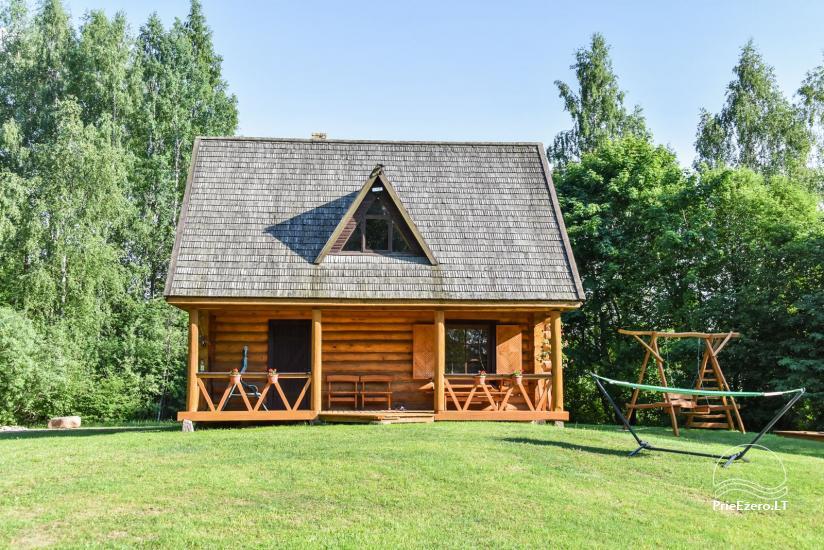 """Rąstinis namas ir pirtis prie Auslo ežero Zarasų rajone – sodyba """"AUSLA"""" - 5"""