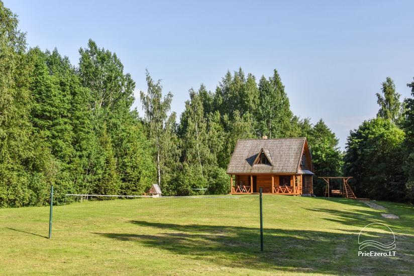 """Rąstinis namas ir pirtis prie Auslo ežero Zarasų rajone – sodyba """"AUSLA"""" - 7"""