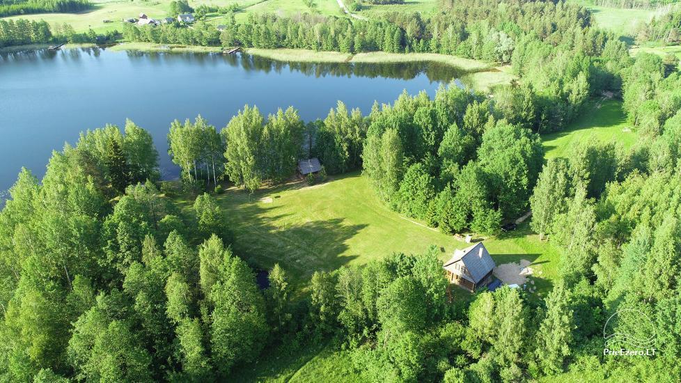 """Rąstinis namas ir pirtis prie Auslo ežero Zarasų rajone – sodyba """"AUSLA"""" - 2"""