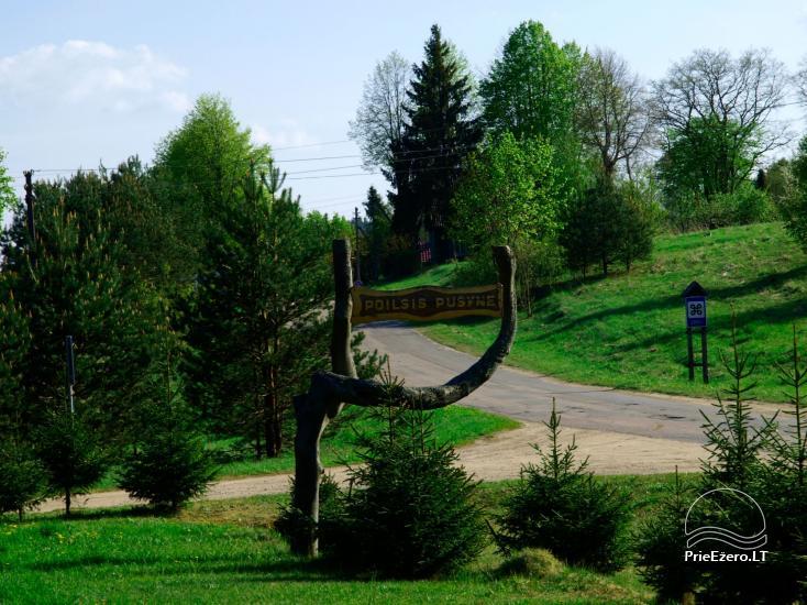 Sodyba Poilsis Pušyne – namo ir namelio nuoma poilsiui Ginučiuose, Ignalinos rajone - 18
