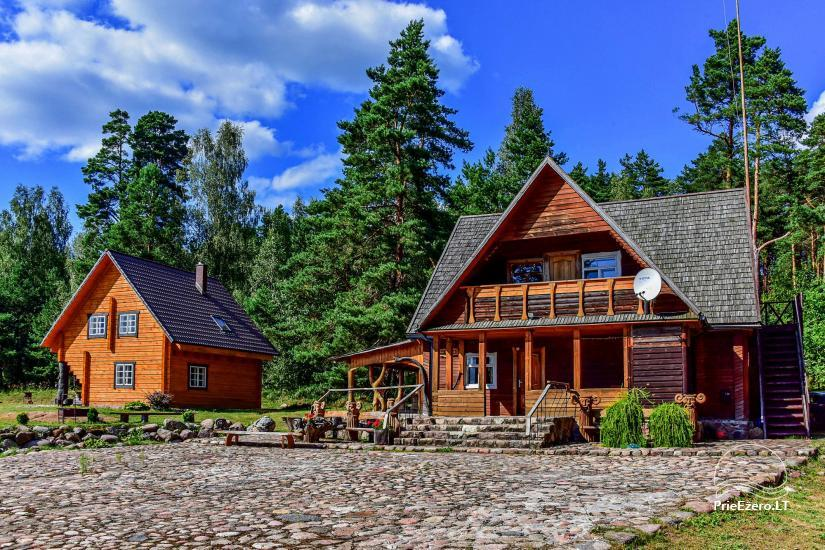 Sodyba Poilsis Pušyne – namo ir namelio nuoma poilsiui Ginučiuose, Ignalinos rajone - 1