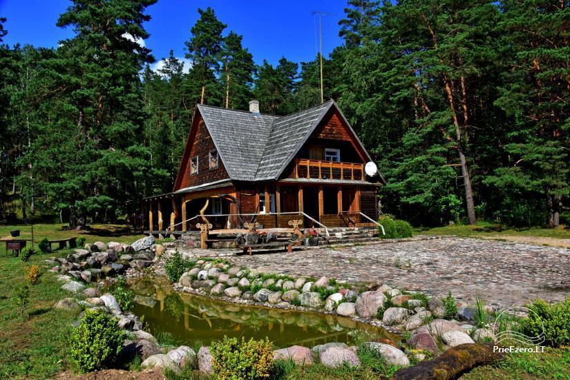 Sodyba Poilsis Pušyne – namo ir namelio nuoma poilsiui Ginučiuose, Ignalinos rajone - 2