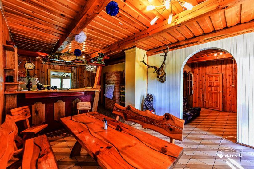 Sodyba Poilsis Pušyne – namo ir namelio nuoma poilsiui Ginučiuose, Ignalinos rajone - 7