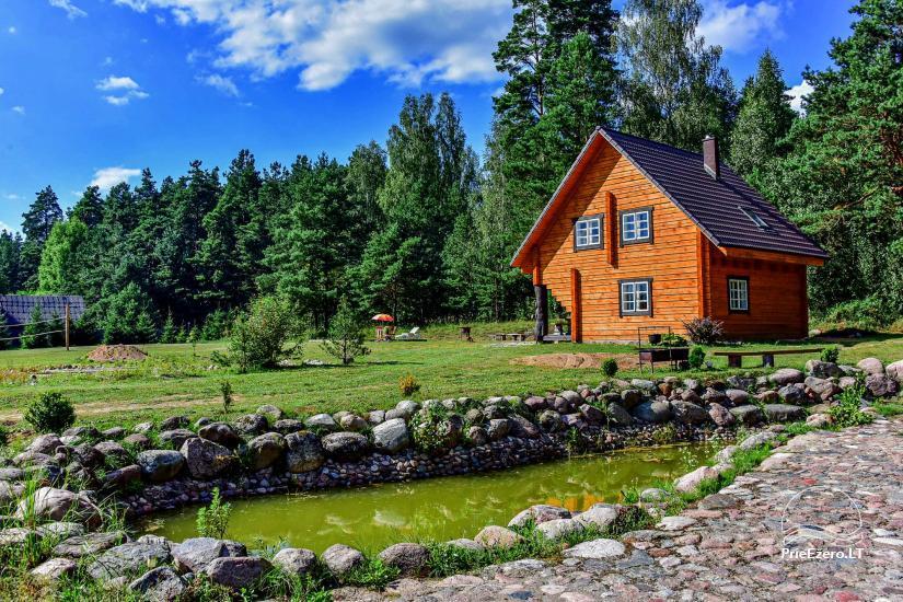 Sodyba Poilsis Pušyne – namo ir namelio nuoma poilsiui Ginučiuose, Ignalinos rajone - 22