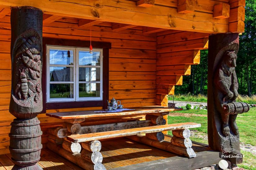 Sodyba Poilsis Pušyne – namo ir namelio nuoma poilsiui Ginučiuose, Ignalinos rajone - 23
