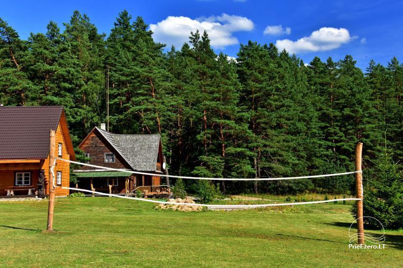Sodyba Poilsis Pušyne – namo ir namelio nuoma poilsiui Ginučiuose, Ignalinos rajone - 47