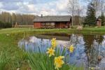 Namelis/pirtis Utenos raj. prie Politiškio ežero