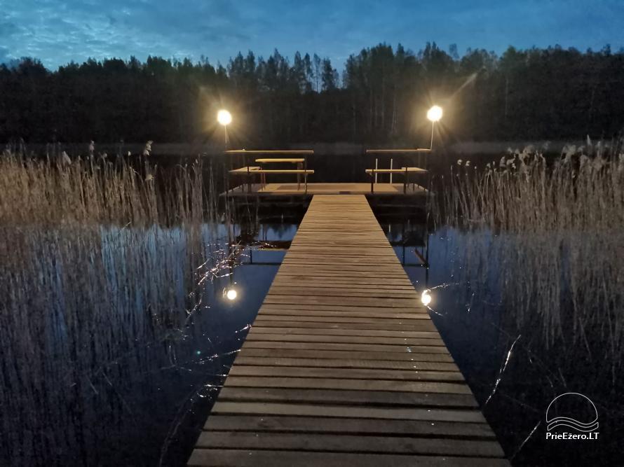 Namelis/pirtis Utenos raj. prie Politiškio ežero - 3