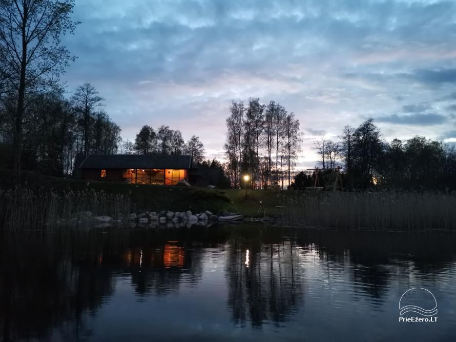 Namelis/pirtis Utenos raj. prie Politiškio ežero - 4