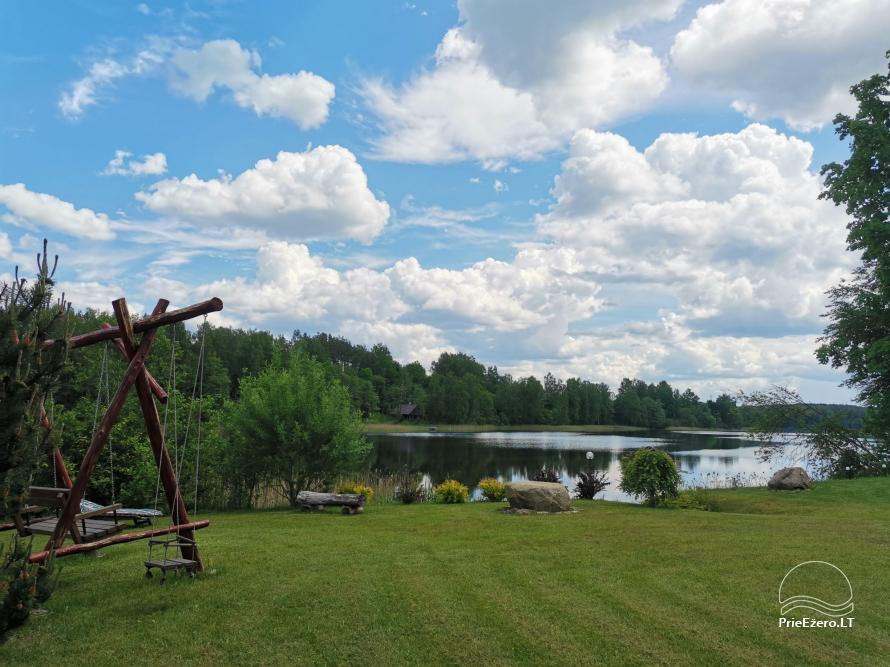 Namelis/pirtis Utenos raj. prie Politiškio ežero - 5