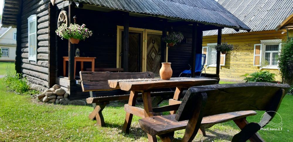 Nuomuojamas namelis - senovinis svirnas - prie Baluošo ežero - 2