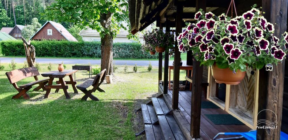 Nuomuojamas namelis - senovinis svirnas - prie Baluošo ežero - 1