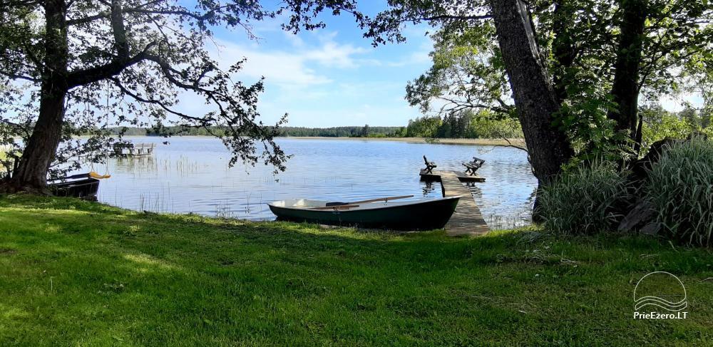 Nuomuojamas namelis - senovinis svirnas - prie Baluošo ežero - 3