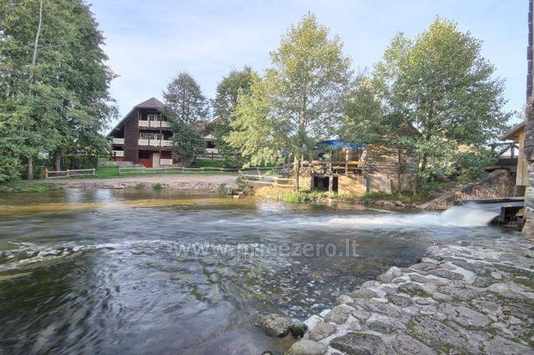 """Poilsio namai """"Srovės krantas"""" Ignalinos rajone prie Srovenos upės ir Srovinaičio ežero - 2"""