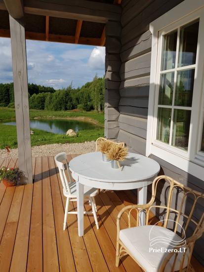 Aviečių vila - Naujas ir jaukus namas laukinėje gamtoje šalia miško - 4