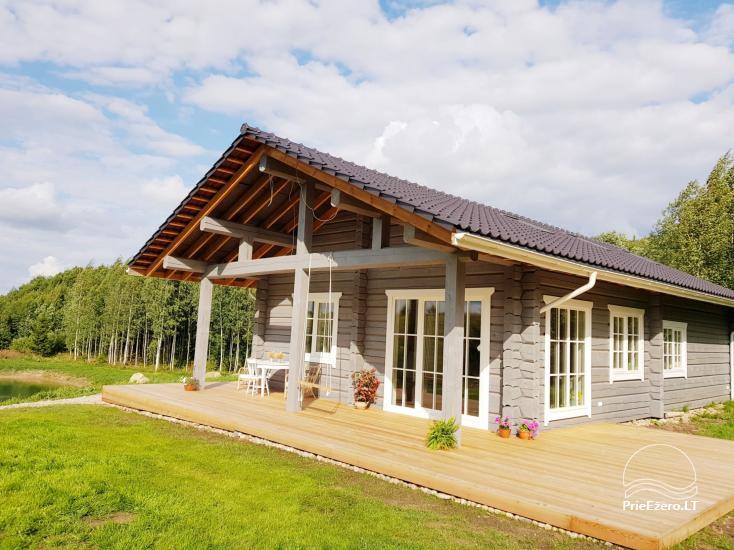 Aviečių vila - Naujas ir jaukus namas laukinėje gamtoje šalia miško - 1