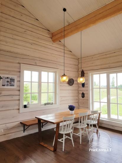Aviečių vila - Naujas ir jaukus namas laukinėje gamtoje šalia miško - 11