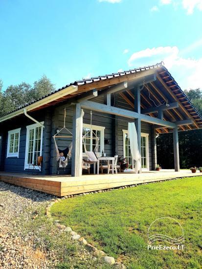 Aviečių vila - Naujas ir jaukus namas laukinėje gamtoje šalia miško - 7
