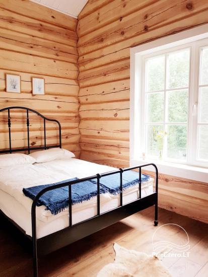 Aviečių vila - Naujas ir jaukus namas laukinėje gamtoje šalia miško - 21