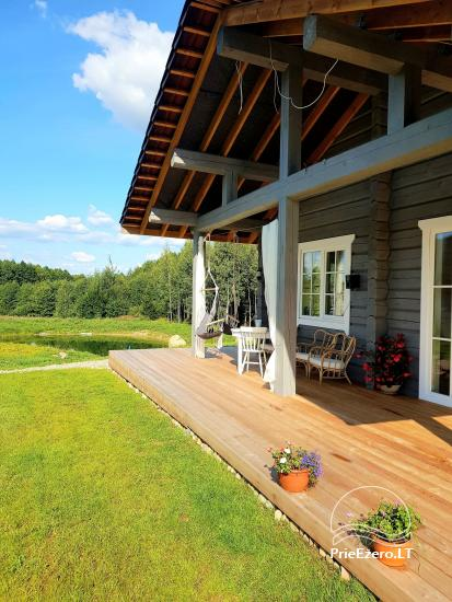 Aviečių vila - Naujas ir jaukus namas laukinėje gamtoje šalia miško - 6