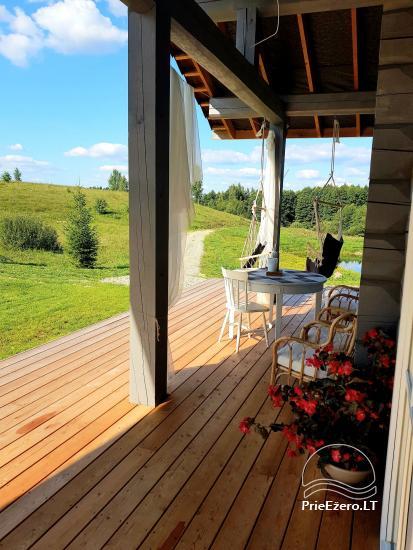 Aviečių vila - Naujas ir jaukus namas laukinėje gamtoje šalia miško - 8
