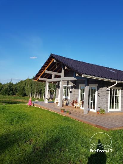 Aviečių vila - Naujas ir jaukus namas laukinėje gamtoje šalia miško - 5