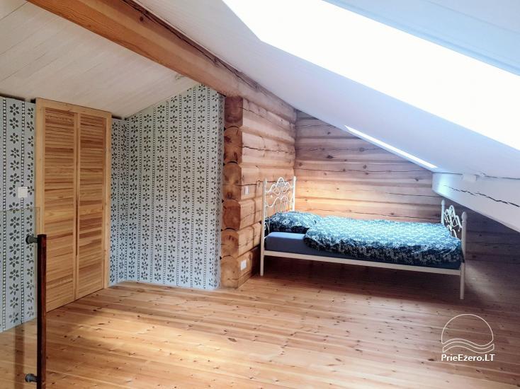 Aviečių vila - Naujas ir jaukus namas laukinėje gamtoje šalia miško - 24