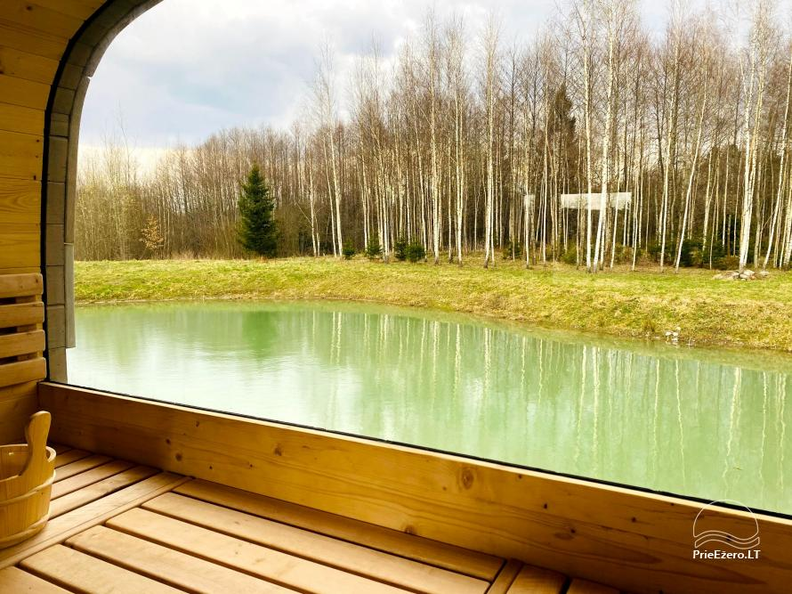 Aviečių vila - Naujas ir jaukus namas laukinėje gamtoje šalia miško - 26