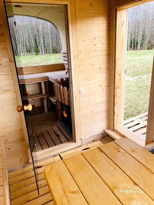 Aviečių vila - Naujas ir jaukus namas laukinėje gamtoje šalia miško - 27