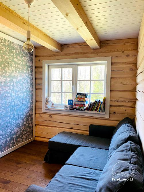 Aviečių vila - Naujas ir jaukus namas laukinėje gamtoje šalia miško - 23