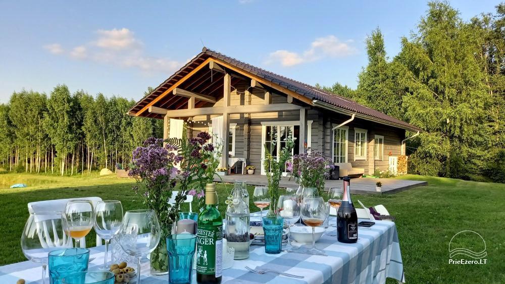Aviečių vila - Naujas ir jaukus namas laukinėje gamtoje šalia miško - 2