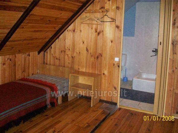 Kambarių, namo, pirties nuoma Jūrkalnėje, sodyboje Eglāji - 11