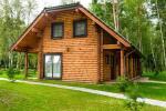 Rąstiniai nameliai, vilos prie Palangos - Atostogų parkas