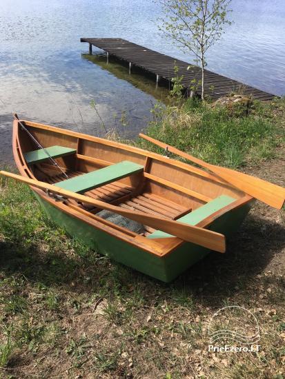 Išnuomoju sodyba su pirtele, valtimi ir pavėsine! Šalia Molėtų! Yra lieptas į Luokesų ežerą! - 9