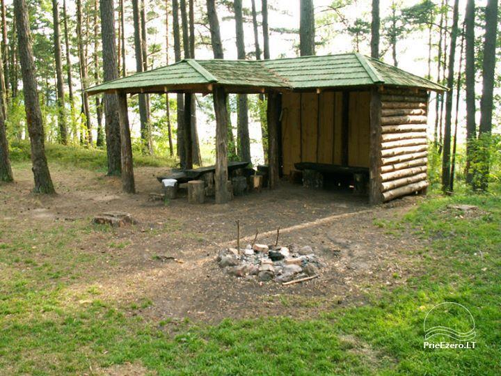 Stovyklavietė Siesartis: namelių nuoma, vietos palapinėms, kemperiams - 12