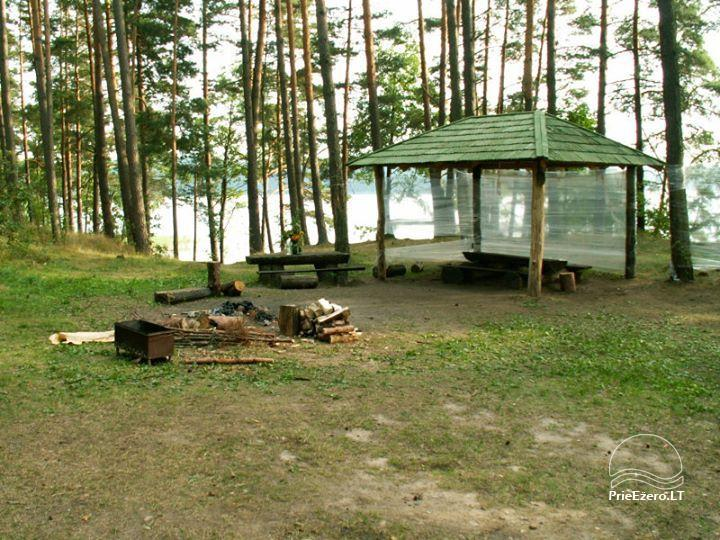 Stovyklavietė Siesartis: namelių nuoma, vietos palapinėms, kemperiams - 13