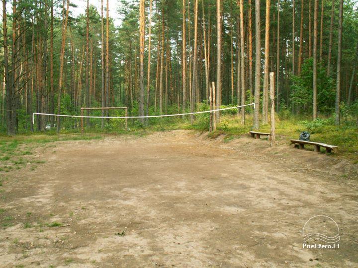 Stovyklavietė Siesartis: namelių nuoma, vietos palapinėms, kemperiams - 5