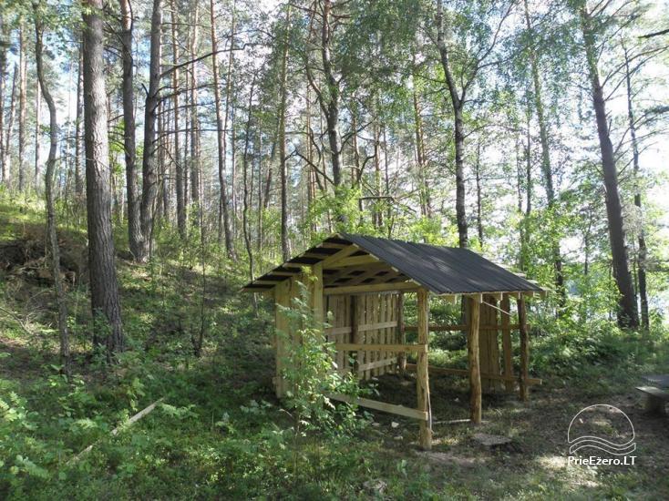 Stovyklavietė Siesartis: namelių nuoma, vietos palapinėms, kemperiams - 18