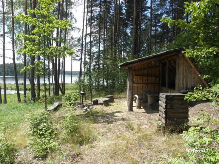 Stovyklavietė Siesartis: namelių nuoma, vietos palapinėms, kemperiams - 20
