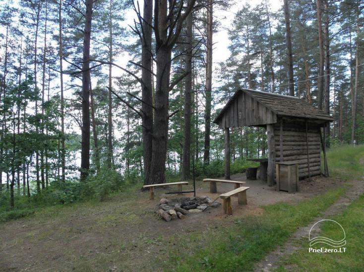 Stovyklavietė Siesartis: namelių nuoma, vietos palapinėms, kemperiams - 21