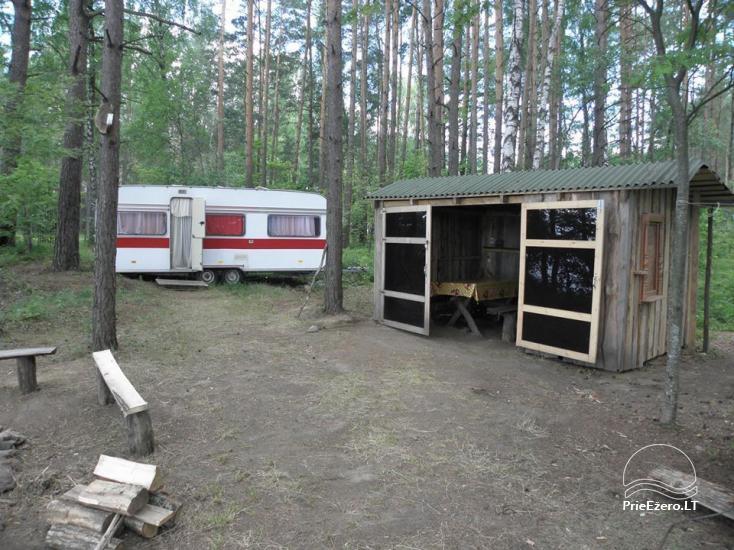 Stovyklavietė Siesartis: namelių nuoma, vietos palapinėms, kemperiams - 22