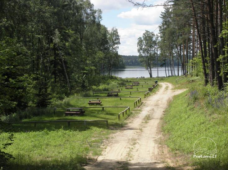 Stovyklavietė Siesartis: namelių nuoma, vietos palapinėms, kemperiams - 14