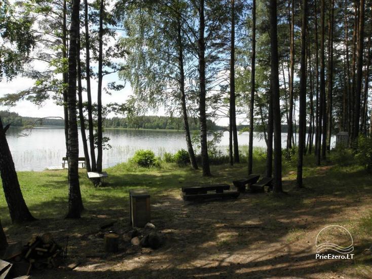 Stovyklavietė Siesartis: namelių nuoma, vietos palapinėms, kemperiams - 23