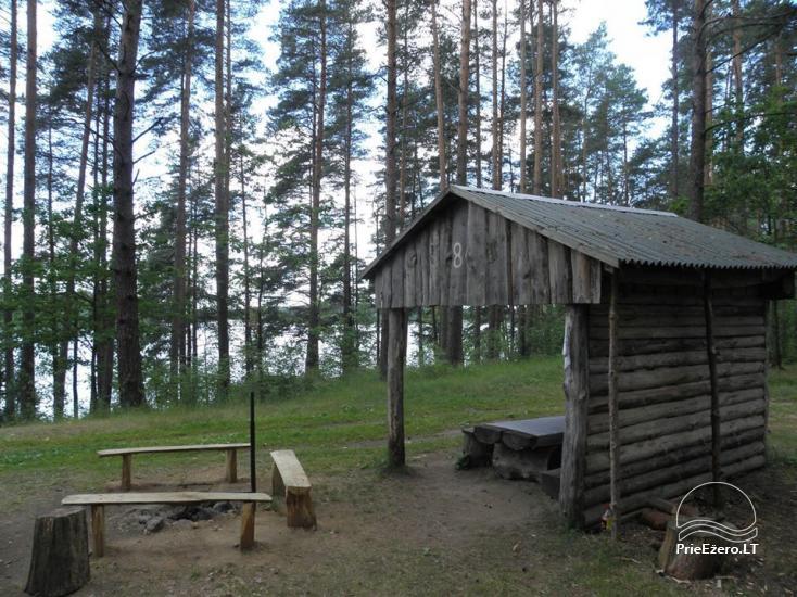 Stovyklavietė Siesartis: namelių nuoma, vietos palapinėms, kemperiams - 24