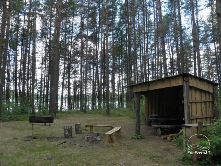 Stovyklavietė Siesartis: namelių nuoma, vietos palapinėms, kemperiams - 25