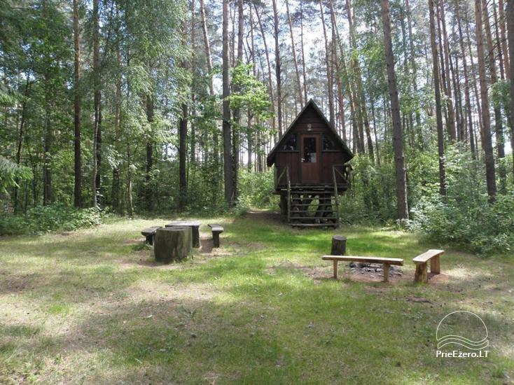 Stovyklavietė Siesartis: namelių nuoma, vietos palapinėms, kemperiams - 26