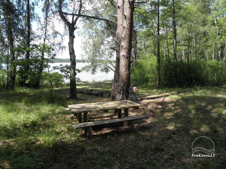 Stovyklavietė Siesartis: namelių nuoma, vietos palapinėms, kemperiams - 27