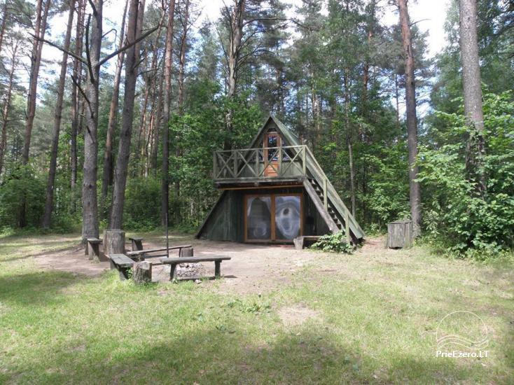 Stovyklavietė Siesartis: namelių nuoma, vietos palapinėms, kemperiams - 31